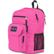 Jansport® Digitial Big Student Fluorescent Pink Backpack