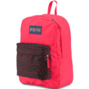 Jansport® High Stakes Black Laser Lace Backpack