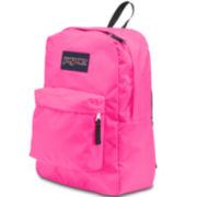 Jansport® Superbreak Flourescent Pink Backpack
