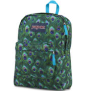 Jansport® Superbreak Peacock Feather Backpack