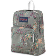 Jansport® Superbreak Shady Grey Sprinkled Floral Backpack