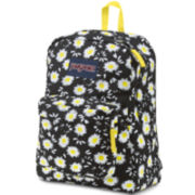 Jansport® Superbreak Lucky Daisy Black Backpack
