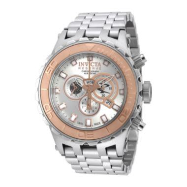 jcpenney.com | Invicta® Subaqua Reserve Mens Silver-Tone Dial Stainless Steel Chronograph Watch 14034