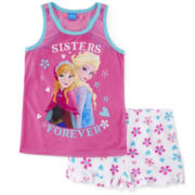 Disney Frozen Sisters Pajamas - Girls 4-10