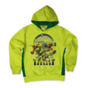 Teenage Mutant Ninja Turtles Pull-Over Fleece Hoodie - Boys 8-20