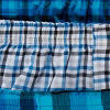 Blue Black Plaid