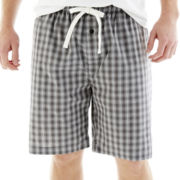The Foundry Supply Co.™ Poplin Sleep Shorts-Big & Tall