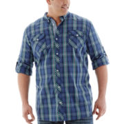 i jeans by Buffalo Long-Sleeve Woven Shirt-Big & Tall