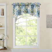 Richloom Zada Rod-Pocket Arch Valance