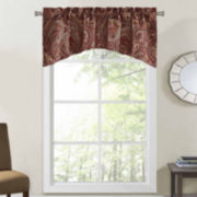 Richloom Clayton Rod-Pocket Arch Valance
