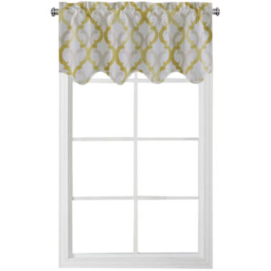 jcpenney.com | Richloom Addison Rod-Pocket Scalloped Valance