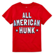 Okie Dokie® American Graphic Tee - Toddler Boys 2t-5t