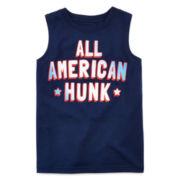 Okie Dokie® American Muscle Tee - Preschool Boys 4-7
