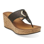 Clarks® Avaleen Lake Wedge Shoes