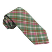 Stafford® Bright Plaid Tie