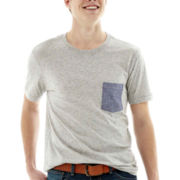 Arizona Short-Sleeve Nep Pocket Tee