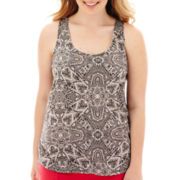 Arizona Racerback Print Tank Top - Plus