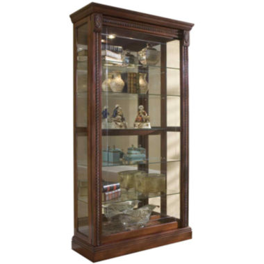 "jcpenney.com | Andover 43"" Sliding Door Curio Cabinet"