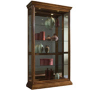 "Haverhill 43"" Sliding Door Curio Cabinet"