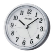 Seiko® Bedside Alarm with Get Up and Glow and EL Dial Clock Qhe115klh