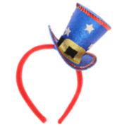 Capelli of New York Patriotic Glitter Sequin Hat Headband