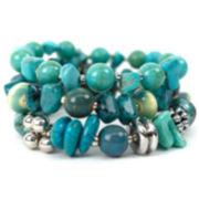 Aris by Treska Three-Strand Bracelet