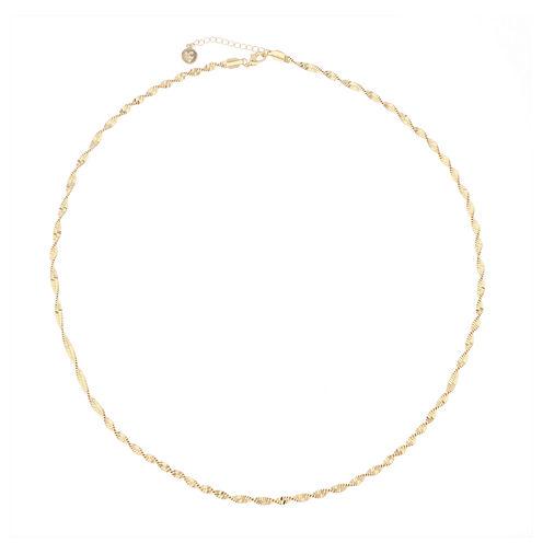 Liz Claiborne® Gold-Tone Strand Necklace