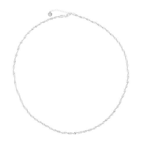 Liz Claiborne® Silver-Tone Strand Necklace
