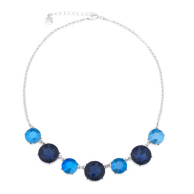 jcpenney.com | Monet® Blue and Silver-Tone Collar Necklace