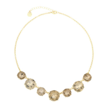 jcpenney.com | Monet® Brown and Gold-Tone Collar Necklace