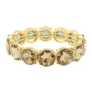 Monet® Brown and Gold-Tone Stretch Bracelet