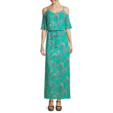 jcpenney.com | Bisou Bisou® Sleeveless Maxi Dress