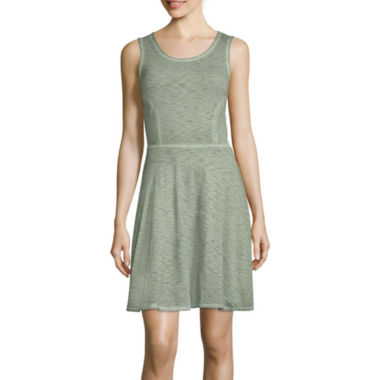 jcpenney.com | a.n.a® Fit-and-Flare Dress