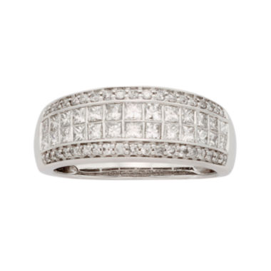 jcpenney.com | 1 CT. T.W. Certified Diamond 14K White Gold Wedding Band