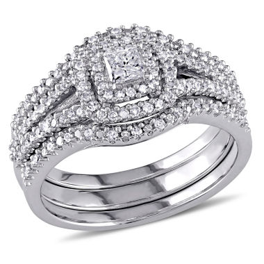 jcpenney.com | Diamond Sterling Silver Bridal Set 21