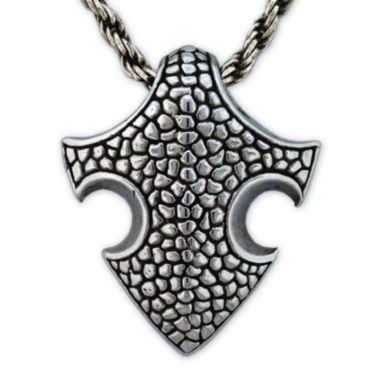 jcpenney.com | Mens Stainless Steel Medieval Pendant Necklace