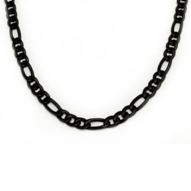 jcpenney.com | Mens Black Stainless Steel Chain Necklace