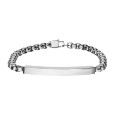 jcpenney.com | Inox® Jewelry Mens Stainless Steel with Box Chain Bracelet