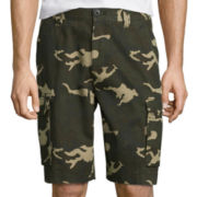 St. John's Bay® Legacy Camo Cotton Cargo Shorts