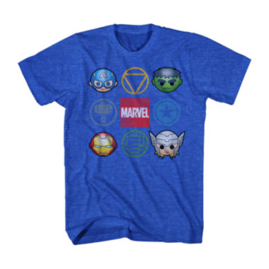 jcpenney.com | Marvel® Short-Sleeve Cute Avengers Tee