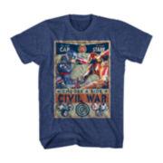 Marvel® Short-Sleeve Civil War Tee