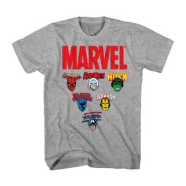 jcpenney.com | Marvel® Short-Sleeve Icons Tee