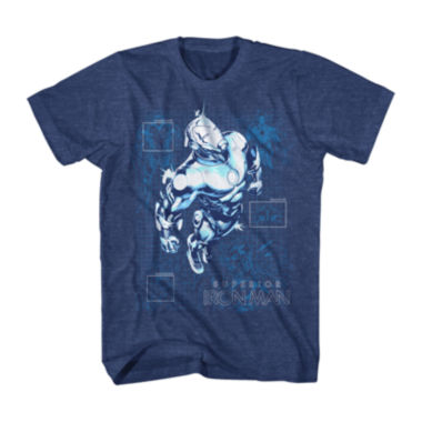 jcpenney.com | Marvel® Short-Sleeve Superior Iron Man Tee