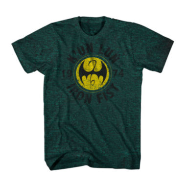 jcpenney.com | Marvel® Short-Sleeve Iron Fist Tee