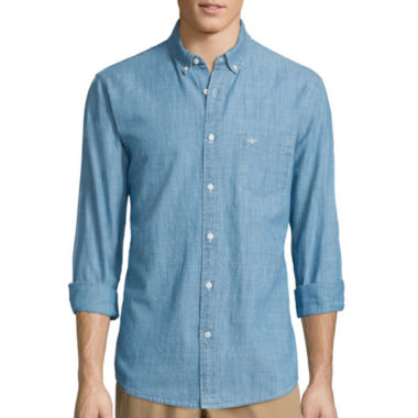 jcpenney.com | Dockers® Long-Sleeve Chambray Shirt