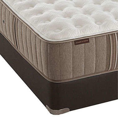 stearns and foster ella grace luxury firm mattress box spring jcpenney. Black Bedroom Furniture Sets. Home Design Ideas