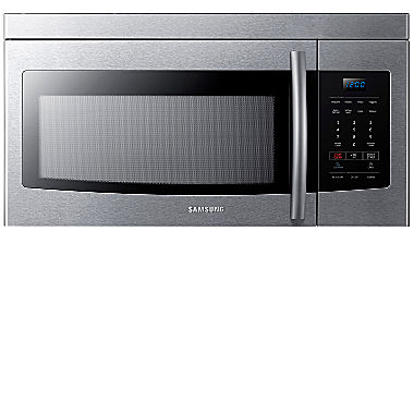 Samsung 1 6 over the range microwave me16k3000aw aa jcpenney - Red over the range microwave ...