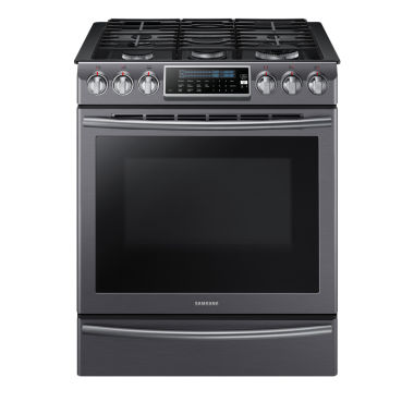 jcpenney.com | Samsung 5.8 Cu. Ft. Slide-In Gas Range With Self-Cleaning Dual Convection Oven