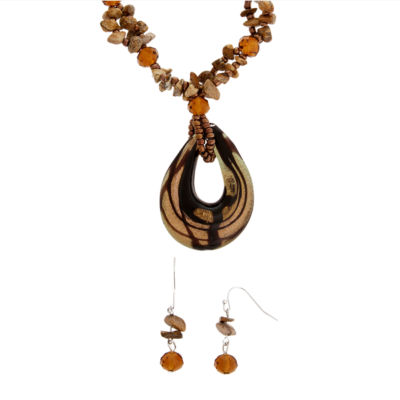 mixit womens 2 pack jewelry set jcpenney