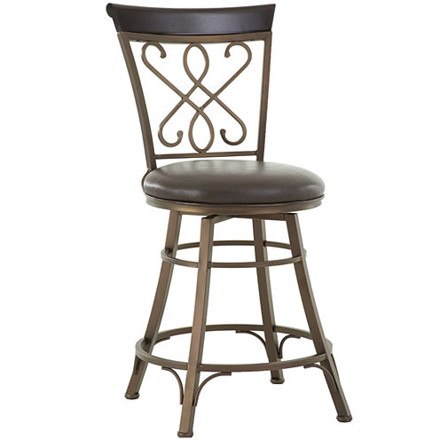 Carter Counter Height Upholstered Bar Stool